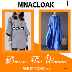Ninacloak Women's Dresses
